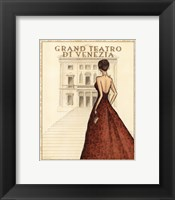 Teatro - Mini Framed Print