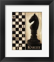 Framed Classic Knight - Mini