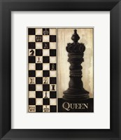 Framed Classic Queen - Mini