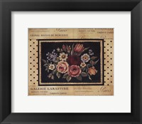 Framed Vintage Bouquet I - Mini