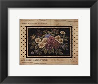 Framed Vintage Bouquet II - Mini