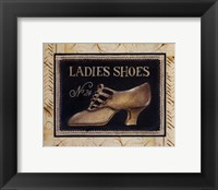 Framed Ladies Shoes No 24 - Mini