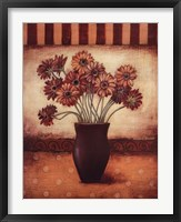 Red Daisies - Grande Framed Print