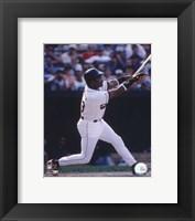 Framed Eddie Murray - 1996 Batting  Action