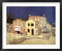 Framed Yellow House, Arles, c.1888