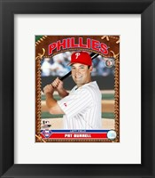 Framed Pat Burrell - 2007 Studio Plus