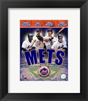 Framed 2007 - Mets Big 4 Hitters