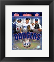 Framed 2007 - Dodgers Big 3 Hitters Composite