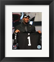 Framed JaMarcus Russell - 2007 NFL Draft Day