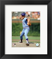 Framed Phil Niekro - Pitching Action