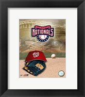 Framed 2007 - Nationals Logo