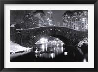 Framed New York - Winter In Central Park