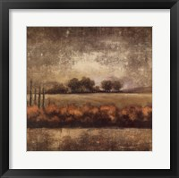 Framed Field at Dawn II