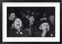 Framed Boys Laugh at Children's Movie Session