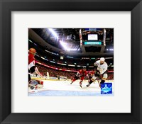 Framed Dustin Penner - 2007 Stanley Cup / Game 4 Goal (#11)