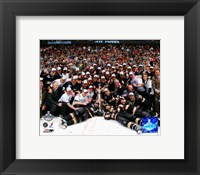 Framed 2007 - Ducks Stanley Cup Celebration On Ice