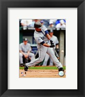 Framed Jose Guillen - 2007 Batting Action