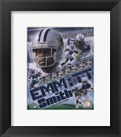 Framed Emmitt Smith - 2007 Legends Composite