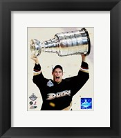 Framed Ryan Getzlaf - 2007 Stanley Cup / With Cup (#19)