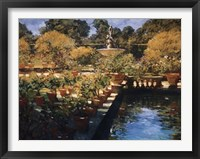 Boboli Gardens - Florence Framed Print