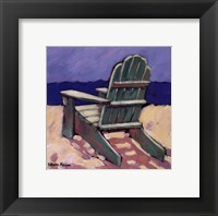 Framed Green Chair