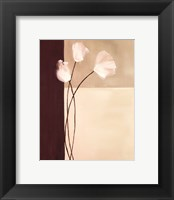 Framed Floral Whispers II
