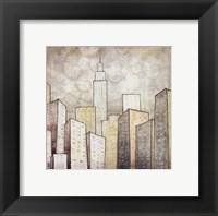 Urban Monograph II Framed Print