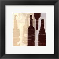 Bordeaux I Framed Print