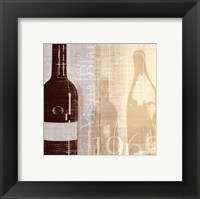 Bordeaux II Framed Print