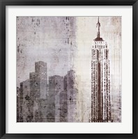Edifice II Framed Print