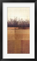 Metropolitan Jewel-Box - Topaz Framed Print