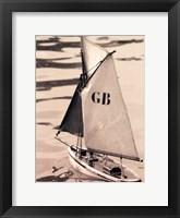 Framed Les Petits Bateaux I