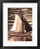 Framed Les Petits Bateaux II