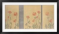 Framed Serenity Poppies