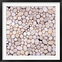 Framed River Pebbles