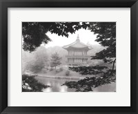 Framed Lotus Pavillion I