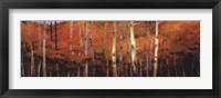 Framed October Treescape