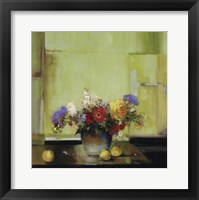 Floral Kaleidoscope I Framed Print