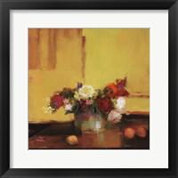 Floral Kaleidoscope II Framed Print