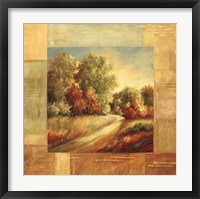 Autumn Scenery I Framed Print