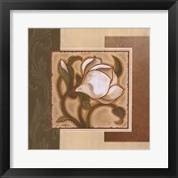 Framed Golden Magnolia I