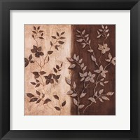 Framed Russet Leaf Garland II