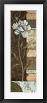 Framed Floral Memories I