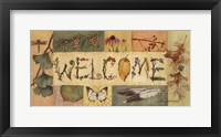 Framed Welcome