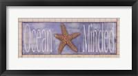 Framed Ocean Minded