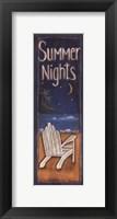 Framed Summer Nights