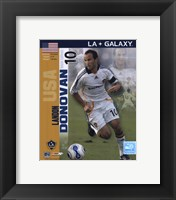 Framed Landon Donovan - 2007 International Series #26