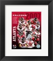 Framed 2007 - Falcons Team Composite