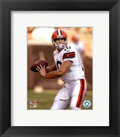 Framed Brady Quinn - 2007 Action