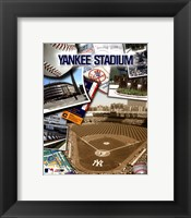 Framed Yankee Stadium Composite
